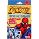 Spider-Man Learning Game Cards [Multiplication]