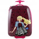 Barbie Polycarbonate Hard Shell Luggage Case