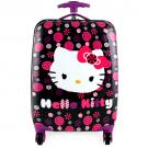 Hello Kitty Hardshell Spinner Rolling Luggage Case