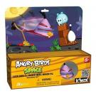 K'Nex Angry Birds Space : Lazer Bird vs. Frozen Small Minion Pig Building Set