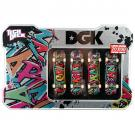 Tech Deck 4 Pack Collector's Tin [DGK]
