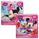 Minnie Mouse Bow-tique Lenticular Puzzles [2-Pack - 28 pcs each]