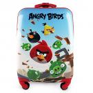 Angry Birds Hardshell Spinner Rolling Luggage Case [Red]