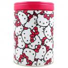 Hello Kitty Round Bank Tin [Kitty Print]