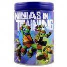 TMNT Round Bank Tin [Blue]