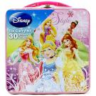 Disney Princess Tin Carry-All [BONUS 30 Stickers]