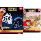 Angry Birds Star Wars 2-Puzzle Pack [48 Pieces Each]