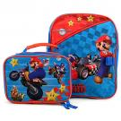Super Mario Toddler Backpack and Lunch Bag
