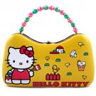 Hello Kitty Tin Scoop Purse [Yellow - Chicken Coop]