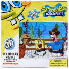 SpongeBob Squarepants Lenticular Puzzle [100 Pieces]