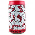 Hello Kitty Round Bank Tin [Kitty Print - 8 Inches]