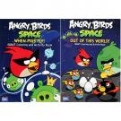 Angry Birds Space Coloring Books [2-Pack]