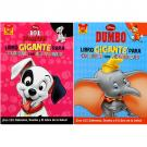 Disney 2-Pack Spanish Coloring Book Set [101 Dalmations and Dumbo]
