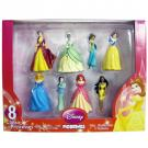Disney Princess Figurines [8 Pack]
