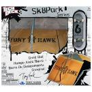 Tech Deck Sk8 Parks [Grind Rail - Tony Hawk Birdhouse]