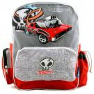 Hot Wheels Deluxe School Bag [Red]