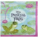 Disney The Princess and the Frog Beverage Napkins [16 per pack]