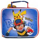 Pokemon Lunch Bag - 'Pikachu and Ash'