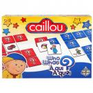 Caillou Game - Who What?