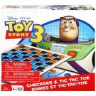Disney Pixar Toy Story 3 Checkers and Tic Tac Toe