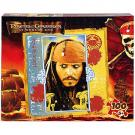 Disney Pirate of the Caribbean 100 pcs Puzzle [Captain Jack Sparrow]