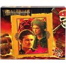 Disney Pirate of the Caribbean 100 pcs Puzzle [Will Turner and Elizabeth Swan]