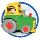 Caillou Pull-Back Tractor and Mini Figure