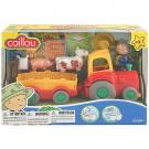 Caillou Pull-Back Farm Tractor and Wagon