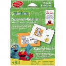 Sesame Street Spanish-English Memory Match Card Game