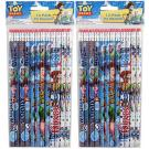 Toy Story #2 Pencils - 12 Per Pack [2 Packs]