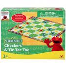 Elmo Checkers & Tic Tac Toe