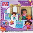 Mega Bloks Dora's Mermaid Adventure [Model 3031 - 13 PCS]