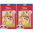 Disney Princess Stickerland Pad - 276 Stickers [2 Pack]