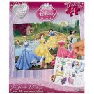 Disney Princess 24-Piece Puzzle with Clings
