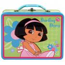 Dora the Explorer Tin Lunch Box [Darling Dora]