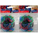 Spider-Man Silicone Bandz [2 Packs of 18]