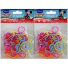 Mickey Mouse Silicone Bandz [2 Packs of 18]