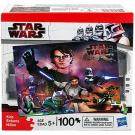 Star Wars Clone Wars Puzzle [Luke - 100 PCS]