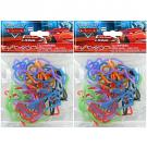 Disney Pixar Cars Silicone Bandz [2 Packs of 18]