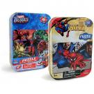 Marvel Heroes and Spider-Man Puzzles in Tin [50 PCS - 2 Pack]