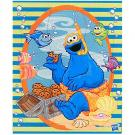 Cookie Monster Woodboard Puzzle [9 Pieces]