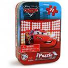 Cars 24-Piece Puzzle in Tin