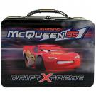 Disney Pixar Cars - Tin Lunch Box [ Black with Lightning Mcqueen ]