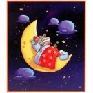 Toopy and Binoo Woodboard Puzzle [9 Pieces - On the Moon]