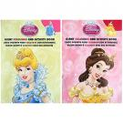 Disney Princess Giant Coloring and Activity Book [Set of 2]
