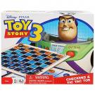 Toy Story 3 Checkers and Tic Tac Toe Game