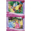 Disney Princess 2-Puzzle Pack [100 PCS]