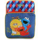 Sesame Street Backpack [Elmo, Cookie Monster, and Big Bird]