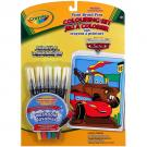 Disney Pixar Cars Crayola Coloring Set [Paint Brush Pens]