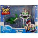 Disney Pixar Toy Story Figurines [2 Pack - Dino and Buzz Lightyear]